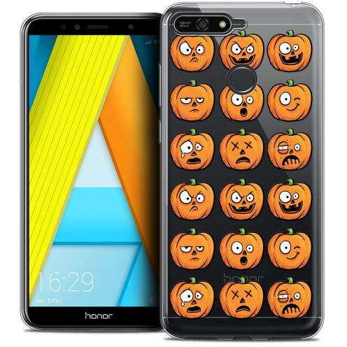 "Extra Slim Crystal Gel Honor 7A (5.7"") Case Halloween Cartoon Citrouille"