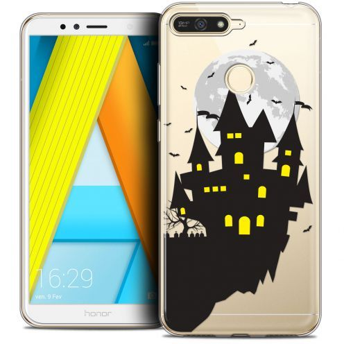 "Extra Slim Crystal Gel Honor 7A (5.7"") Case Halloween Castle Dream"