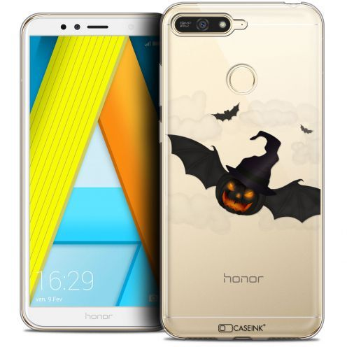 "Extra Slim Crystal Gel Honor 7A (5.7"") Case Halloween Chauve Citrouille"