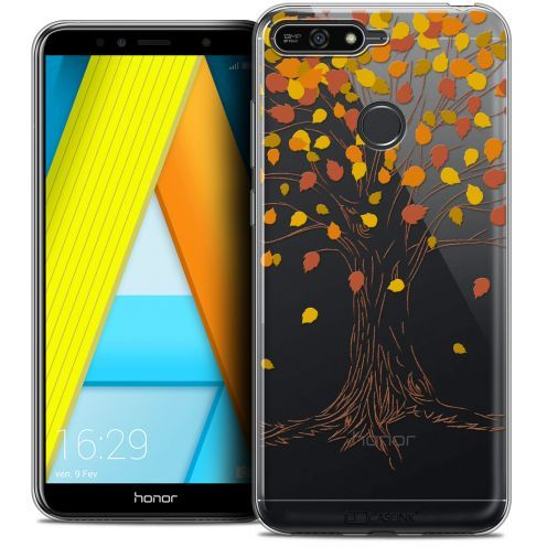 "Extra Slim Crystal Gel Honor 7A (5.7"") Case Autumn 16 Tree"
