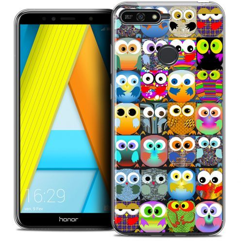 "Extra Slim Crystal Gel Honor 7A (5.7"") Case Claude Hibous"