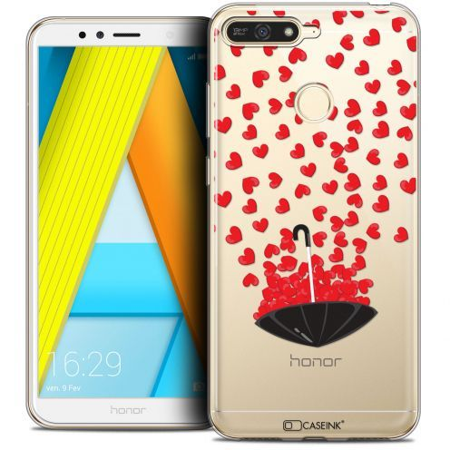 """Extra Slim Crystal Gel Honor 7A (5.7"""") Case Love Parapluie d'Amour"""