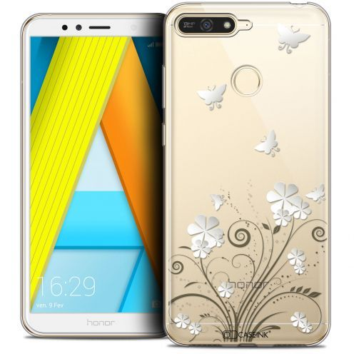 """Extra Slim Crystal Gel Honor 7A (5.7"""") Case Summer Papillons"""