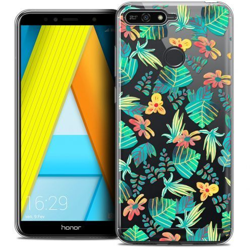"Extra Slim Crystal Gel Honor 7A (5.7"") Case Spring Tropical"