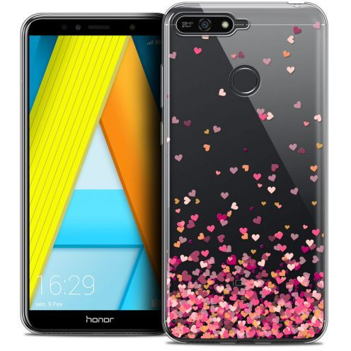"Extra Slim Crystal Gel Honor 7A (5.7"") Case Sweetie Heart Flakes"