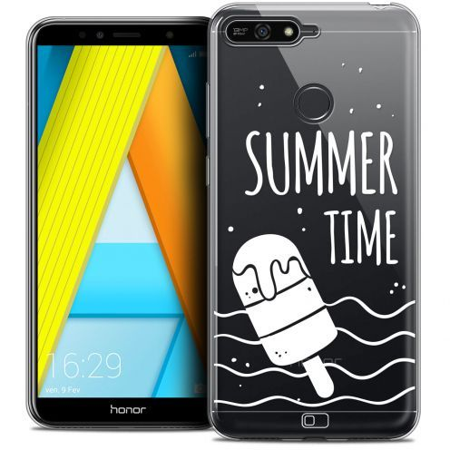 "Extra Slim Crystal Gel Honor 7A (5.7"") Case Summer Summer Time"