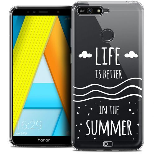 "Extra Slim Crystal Gel Honor 7A (5.7"") Case Summer Life's Better"