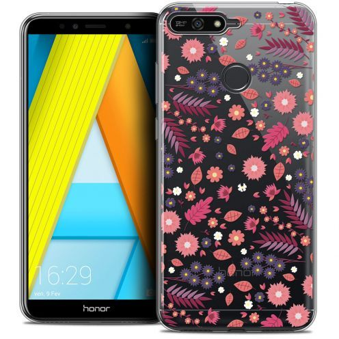 "Extra Slim Crystal Gel Honor 7A (5.7"") Case Spring Printemps"
