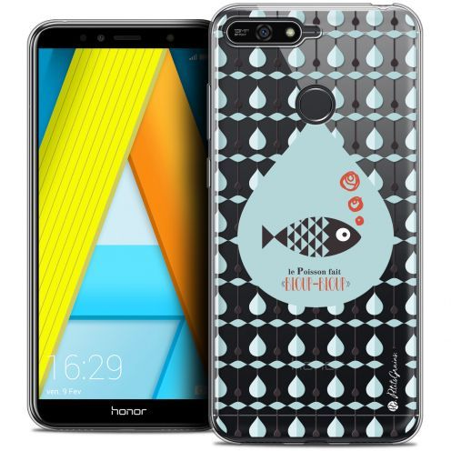 "Extra Slim Crystal Gel Honor 7A (5.7"") Case Petits Grains® Le Poisson"