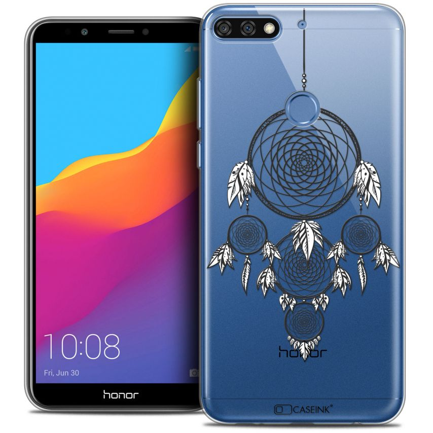"Extra Slim Crystal Gel Honor 7C (5.99"") Case Dreamy Attrape Rêves NB"