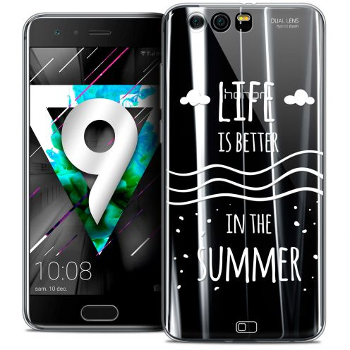 "Extra Slim Crystal Gel Huawei Honor 9 (5.15"") Case Summer Life's Better"