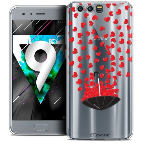 "Extra Slim Crystal Gel Huawei Honor 9 (5.15"") Case Love Parapluie d'Amour"