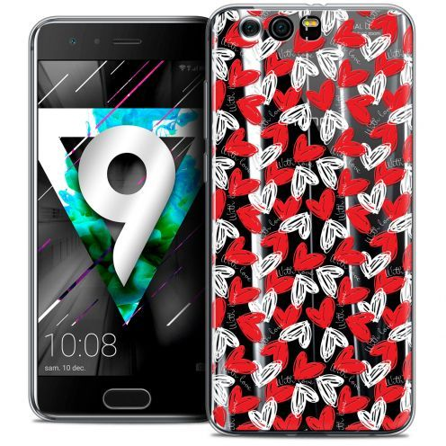 "Extra Slim Crystal Gel Huawei Honor 9 (5.15"") Case Love With Love"