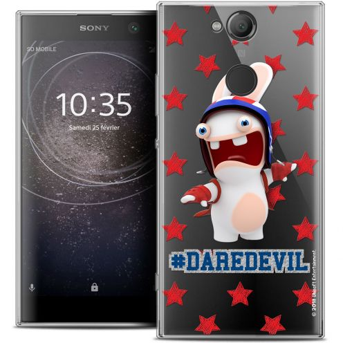 "Crystal Gel Sony Xperia XA2 (5.2"") Case Lapins Crétins™ Dare Devil"