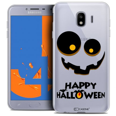 "Extra Slim Crystal Gel Samsung Galaxy J4 2018 J400 (5.5"") Case Halloween Happy"