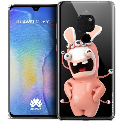 """Crystal Gel Huawei Mate 20 (6.5"""") Case Lapins Crétins™ Extraterrestre"""