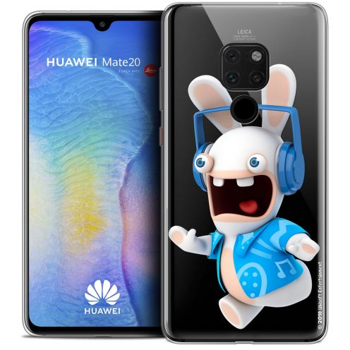 """Crystal Gel Huawei Mate 20 (6.5"""") Case Lapins Crétins™ Techno Lapin"""