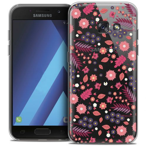 "Extra Slim Crystal Gel Samsung Galaxy A7 2017 A700 (5.7"") Case Spring Printemps"