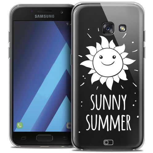 "Extra Slim Crystal Gel Samsung Galaxy A7 2017 A700 (5.7"") Case Summer Sunny Summer"