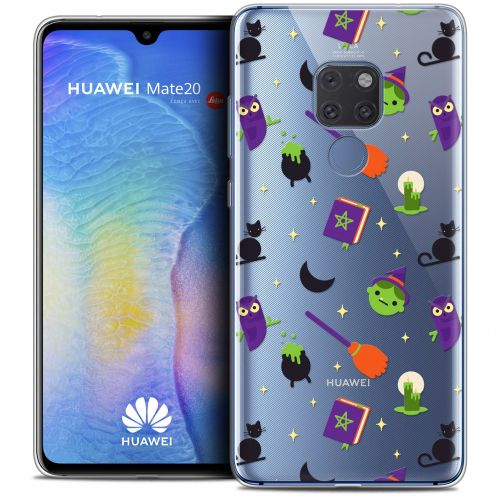 """Extra Slim Crystal Gel Xiaomi Mate 20 (6.5"""") Case Halloween Witch Potter"""