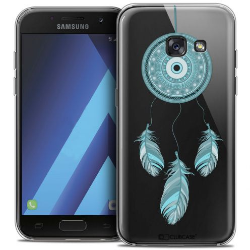 "Extra Slim Crystal Gel Samsung Galaxy A7 2017 A700 (5.7"") Case Dreamy Attrape Rêves Blue"