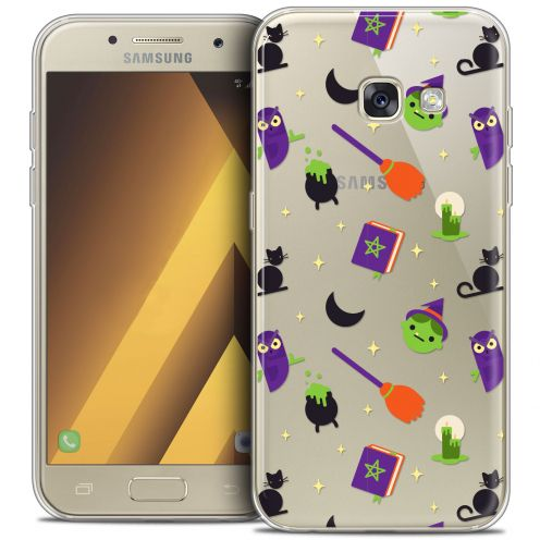 "Extra Slim Crystal Gel Samsung Galaxy A7 2017 A700 (5.7"") Case Halloween Witch Potter"