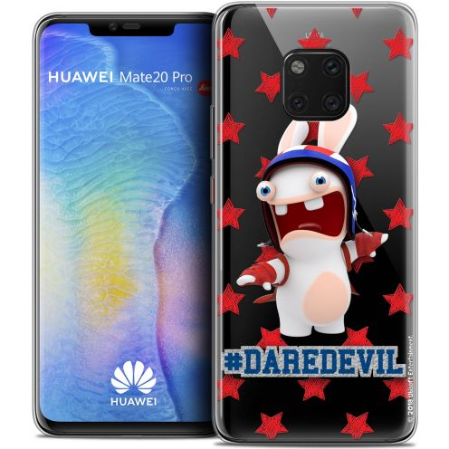"Crystal Gel Xiaomi Mate 20 PRO (6.4"") Case Lapins Crétins™ Dare Devil"