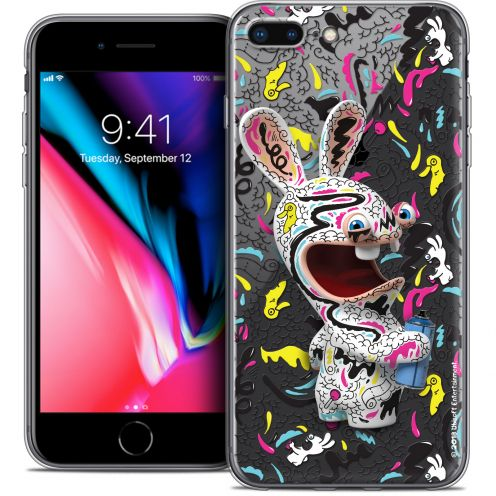 "Crystal Gel Apple iPhone 7 Plus (5.5"") Case Lapins Crétins™ Tag"