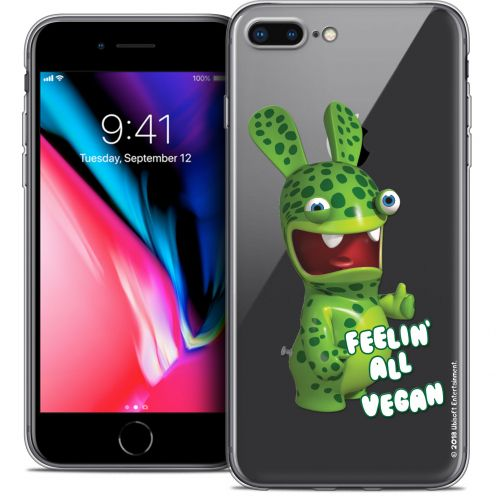 "Crystal Gel Apple iPhone 7 Plus (5.5"") Case Lapins Crétins™ Vegan"