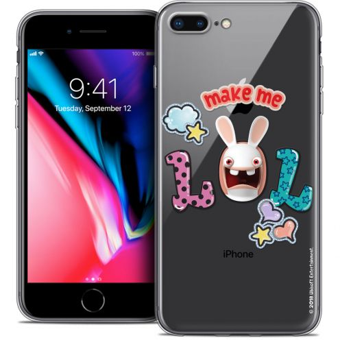 "Crystal Gel Apple iPhone 7 Plus (5.5"") Case Lapins Crétins™ LOL"
