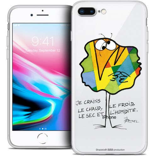 """Extra Slim Crystal Gel Apple iPhone 7 Plus (5.5"""") Case Les Shadoks® Chaud ou Froid"""