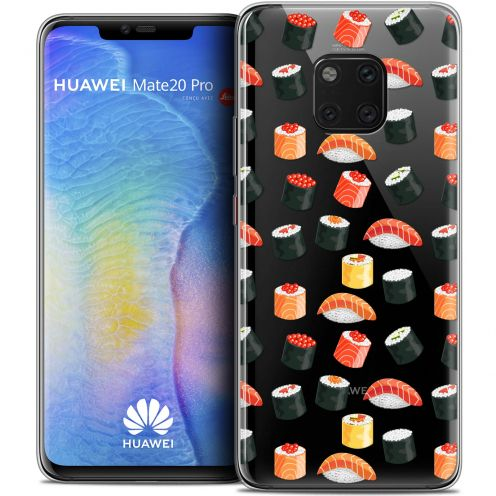 "Extra Slim Crystal Gel Xiaomi Mate 20 PRO (6.4"") Case Foodie Sushi"