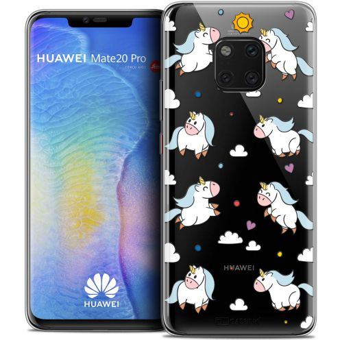 "Extra Slim Crystal Gel Xiaomi Mate 20 PRO (6.4"") Case Fantasia Licorne In the Sky"