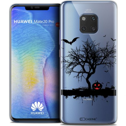 "Extra Slim Crystal Gel Xiaomi Mate 20 PRO (6.4"") Case Halloween Devil's Tree"
