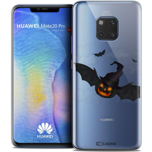"Extra Slim Crystal Gel Xiaomi Mate 20 PRO (6.4"") Case Halloween Chauve Citrouille"