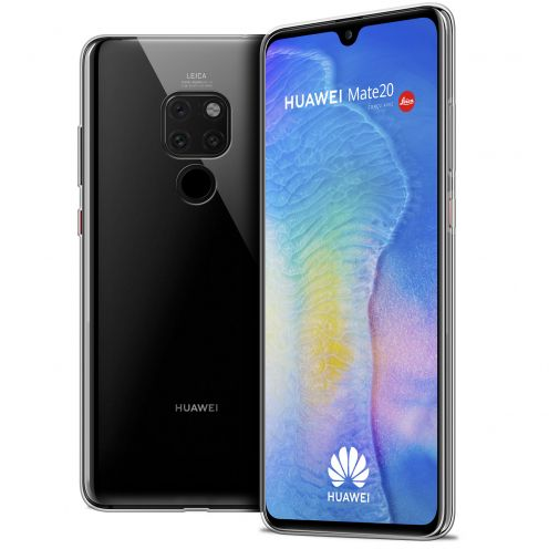 """Extra Slim 1mm Crystal Clear Mate 20 Flexible Case Huawei Mate 20 (6.5"""")"""