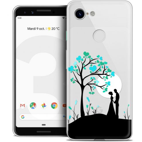 "Extra Slim Crystal Gel Google Pixel 3 (5.5"") Case Love Sous l'arbre"