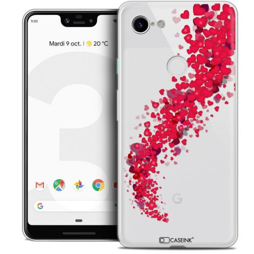 "Extra Slim Crystal Gel Google Pixel 3 XL (6.3"") Case Love Tornado"