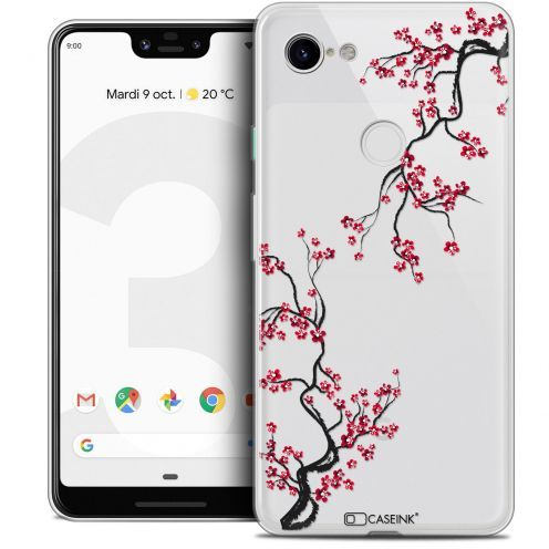 "Extra Slim Crystal Gel Google Pixel 3 XL (6.3"") Case Summer Sakura"