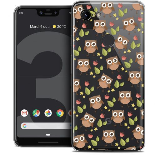 "Extra Slim Crystal Gel Google Pixel 3 XL (6.3"") Case Summer Hibou"