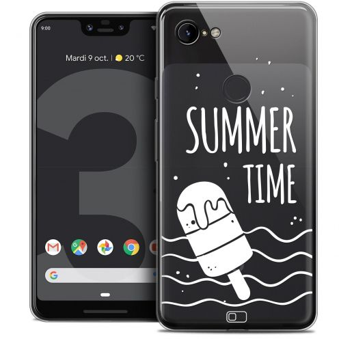 "Extra Slim Crystal Gel Google Pixel 3 XL (6.3"") Case Summer Summer Time"