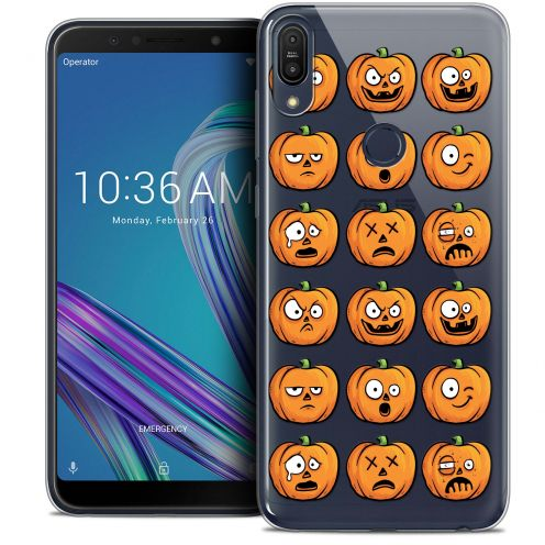 "Extra Slim Crystal Gel Asus Zenfone Max Pro (M1) ZB601KL (6"") Case Halloween Cartoon Citrouille"