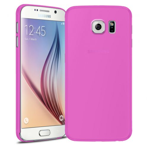 Ultra thin Case 0.3 mm Frost for Samsung Galaxy S6 Pink