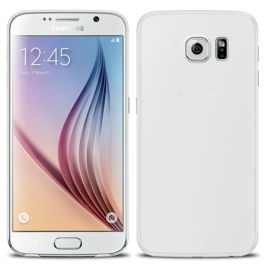 Ultra thin Case 0.3 mm Frost for Samsung Galaxy S6 Clear