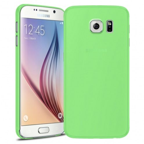 Ultra thin Case 0.3 mm Frost for Samsung Galaxy S6 Green