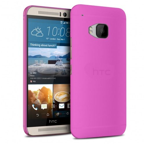 Ultra thin Case 0.3 mm Frost for HTC One M9 Hot Pink