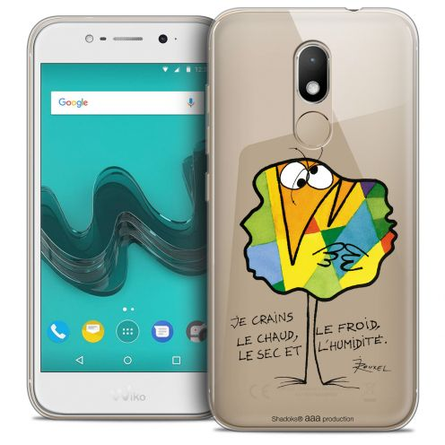 "Extra Slim Crystal Gel Wiko Wim LITE (5.0"") Case Les Shadoks® Chaud ou Froid"
