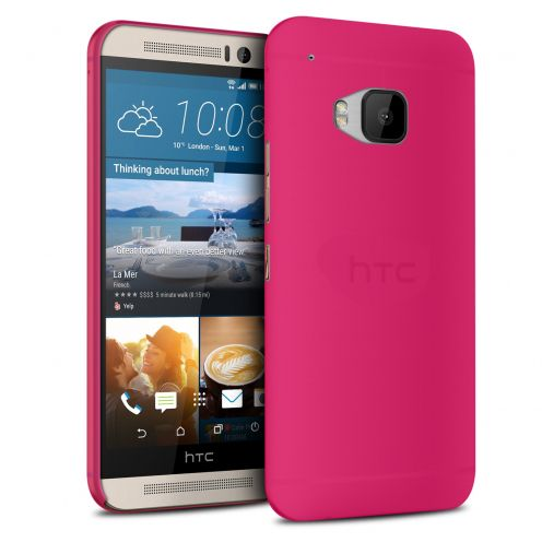 Ultra thin Case 0.3 mm Frost for HTC One M9 Fuchsia