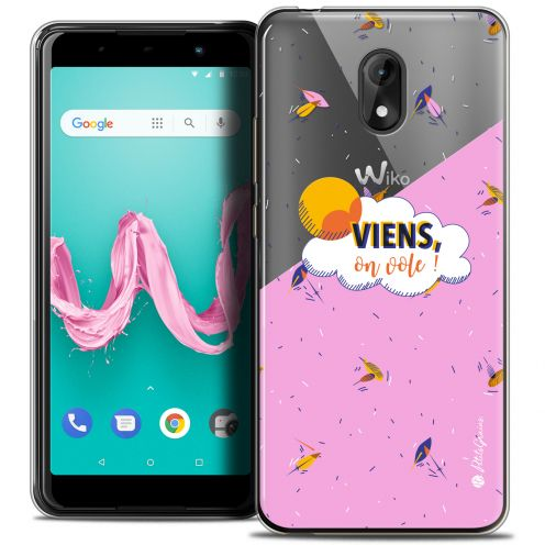 "Extra Slim Crystal Gel Wiko Lenny 5 (5.7"") Case Petits Grains® VIENS, On Vole !"