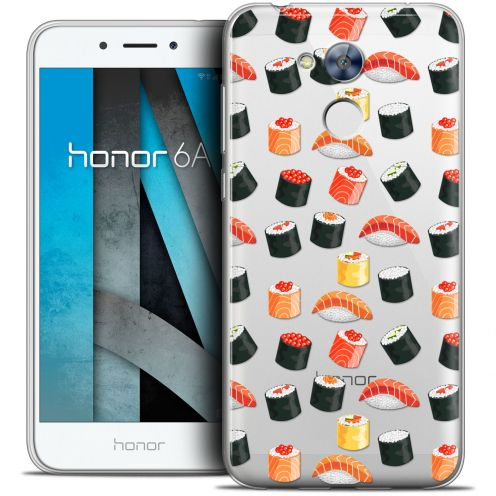 "Extra Slim Crystal Gel Huawei Honor 6A (5"") Case Foodie Sushi"